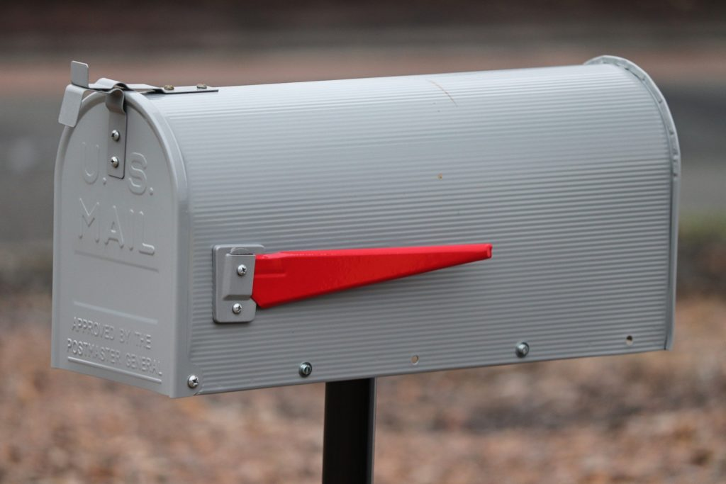 illegal to put flyers in U.S. Mail Boxes